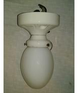 Antique P&S Alabax Porcelain & Glass Antique Wall Sconce Light 1930-1950... - $75.00