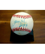 TOMMY JOHN 288 WINS NY YANKEES LA DODGERS SIGNED AUTO GU'ED OAL BASEBALL... - $118.79
