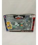 Power Rangers SPD Green Patrol Cycle w Ranger New Factory Sealed 2004 Ba... - $59.39