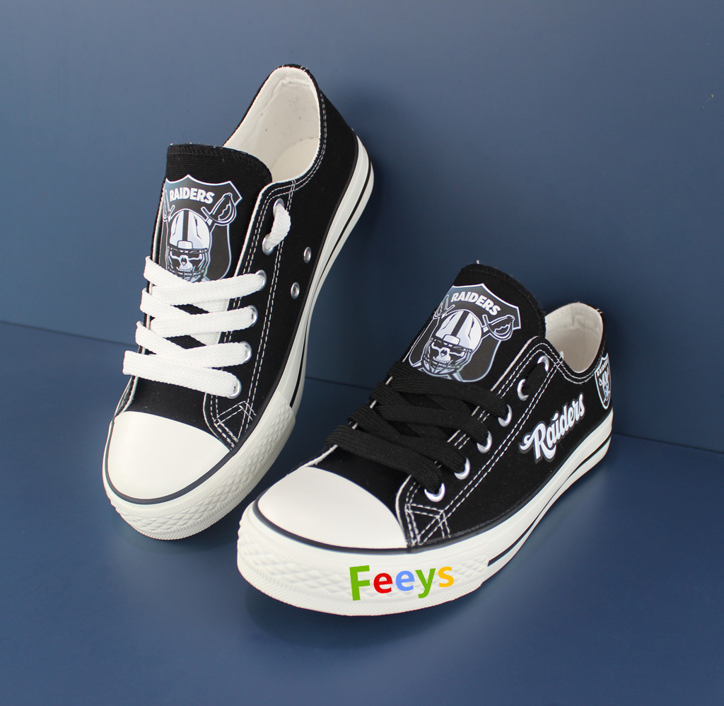 7d9e5ccbba56d5 raiders shoes women converse style raiders sneakers oakland fans birthday  gifts