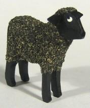 Dregano Little Black Sheep Figurine Made in Germany - $18.37