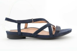Abeo Sylvie Sandals Navy Stones Size US 9  Neutral Footbed (EPB )4363 - £52.94 GBP