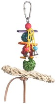 Super Bird Creations 6 by 5-Inch Vine Twist T-Bar Swing Bird Toy, Small - $6.56 CAD