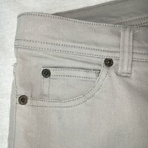 The Limited Womens Jeans Flare Boot Cut Gray Flap Pockets Stretch Size 10
