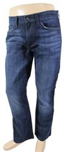 JOE'S JEANS The Rocker Actual 35 x 30 Straight Leg Tag 32 Dark Denim Str... - $28.04