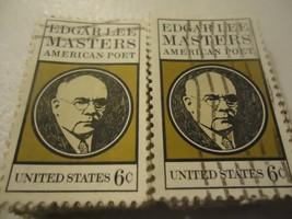 """Edgar Lee Masters, Poet """"1970"""" CV $25.00 - 100 pack SCOTT #1405 FREE SHI... - $4.99"""