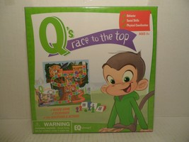 Q's Race to the Top Game 150 Questions & Actions Cards, Game Board & Sto... - $32.56