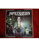 INFILTRATION board game open but unpunched by Fantasy Flight Games - $12.00