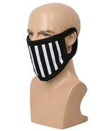XCOSER Ticci Toby Face Mask Black & White Stripes Cotton Face Mask - $13.00