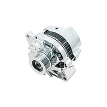 Top Street Performance ES1003C Chrome 110 Amp Alternator with 1 Wire/Serpentine
