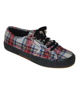 SUPERGA Tartan Plaid Sneakers sz 41 10 Punk Hipster Preppie - $28.84