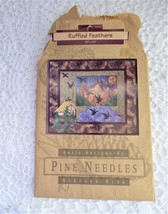 Quilting Pattern Country Rustic Ducks Ruffled Feathers 1997 NIP Quilt Pattern - $22.00