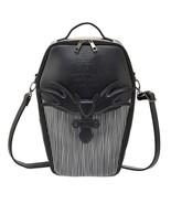 h.naoto Nightmare Before Christmas Coffin Shoulder Bag Backpack black Jack NEW - $185.13