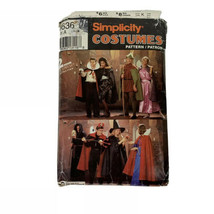 Simplicity Misses Men S,M,L Halloween Costumes Pattern 0636 Princess Witch - $12.00