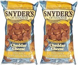 Snyder's of Hanover Pretzel Sandwiches - Cheddar Cheese - 8 oz - 2 Pack - $19.99