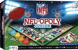 MasterPieces NFL-Opoly Junior Board Game (NFL Junior) - $21.59