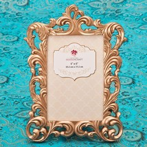 Magnificent Rose Gold Baroque 4 x 6 frame from gifts by fashioncraft  - $12.99
