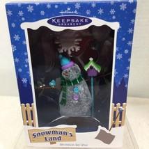 2003 Snowmans Land Snow Place Like Home  Hallmark Christmas Tree Ornament MIB H8 - $14.36