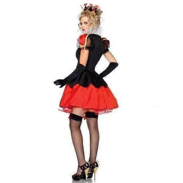 Queen Of Hearts Women Halloween Party Costumes