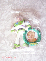 Disney Toy Story Buzz Lightyear Photo Frame Ornament Premium New - $16.99