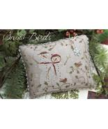 Snow Birds holiday winter christmas cross stitch chart With Thy Needle B... - $12.00