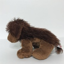 "Ganz Webkinz Brown Dog Plush Stuffed Animal Beanie 8"" Long No Code - $15.72"