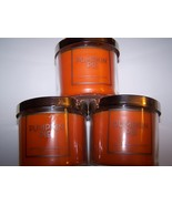 Lot of 3 Bath & Body Works Pumpkin Pie Scented Jar Candle with Lid 4 oz - $22.50