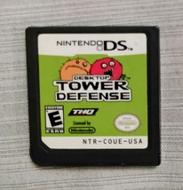 Desktop Tower Defense (Nintendo DS, 2009) THQ Strategy Game -Authentic Cart - $3.33