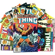The Thing Comic Book Lot 13 Issue Run 1-13 Marvel Copper Age Inhumans Spider-Man - $19.75
