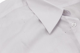 Men's Classic White Long Sleeve Button Up Casual Dress Shirt w/ Defect - M image 2