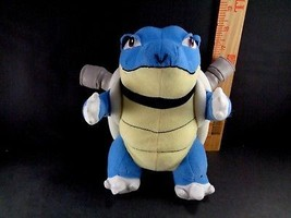 "Vintage Pokemon Go BLASTOISE 9"" Plush Nintendo blue stuffed Toy US Selle... - $14.84"