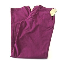 L-2022970 New Burberry Brit Bright Violet Chino Pants Size US-36R - $189.99