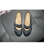 Clarks Artisan Blue Leather Mary Janes Flats Shoes Size 5M Women's EUC - $39.69