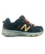 New Balance 402 Womens 6.5 Running Shoes Navy Blue Trail Running Trainin... - $27.70