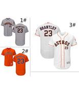 Men's Houston Astros #23 Michael Brantley Flex Base Series Jersey - $40.99