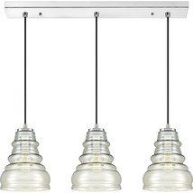 Prophecy 3-Light Linear Chandelier in Polished Chrome - $429.99