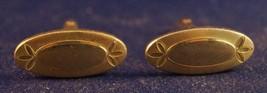 Vintage Swank Goldtone Men's Cufflink Set - $13.85