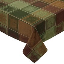 Design Imports Mountain Pine Cotton Table Linens, Tablecloth 52-Inch by ... - $40.05