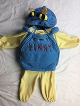 Winnie The Pooh Hunny Pot Plush Costume Honey 18-24 Months Disney Store - $28.04