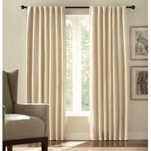 NEW 2 Pack Room Darkening Window Panels in Cream - 54 in. W x 84 in. L - $28.50
