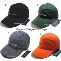 TOMMY HILFIGER NEW MEN'S BASEBALL CAP/HAT BLACK GREEN DENIM BLUE NICE CA... - $22.13+