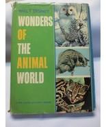 Walt Disney Wonders of the Animal World De Luxe Golden Book 1964 HBDJ - $15.00