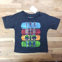 Marvel Kids Boys Graphical T-Shirt, Charcoal, Size 2T, MSRP $28 - $10.88