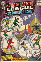 DC Justice League Of America #16 Cavern Of Deadly Spheres Green Lantern ... - $19.95