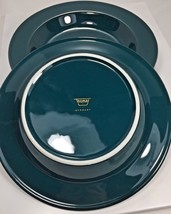 "Vintage Lot of 3 Rosenthal Thomas Germany Green 9"" Salad Plates - $26.42"