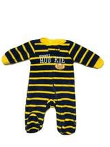Child Of Mine Carter's Baby Boy PREEMIE Mommy's Rookie Football Fleece Sleeper - $9.75