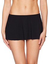 NEW Profile by Gottex Women's Tutti Frutti Skirted Bikini Bottom Black ... - $29.69