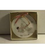 #212105 PRECIOUS MOMENTS 1988 CHRISTMAS ORNAMENT, ORIGINAL BOX, ANGELS A... - $12.35