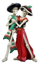 Ebros Large Day of The Dead Wedding Dance Skeleton Couple Figurine Dias De Los M - $27.49