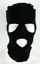 Russian Military Army Special Forces 3 Hole Face Mask Balaclava Black - $6.45